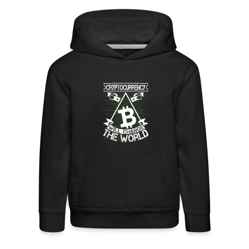 cryptocurrency - Kinderen trui Premium met capuchon