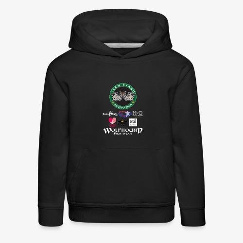 andy murphy back 0617 png - Kids' Premium Hoodie