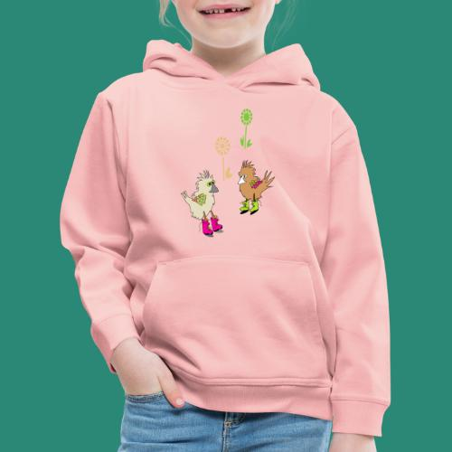 bunte vögel,Colorful birds - Kinder Premium Hoodie