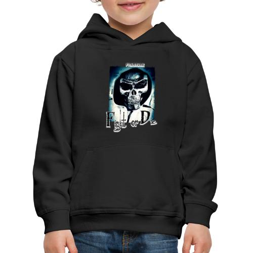 Tête de mort FrOnsoNe 001 - Pull à capuche Premium Enfant