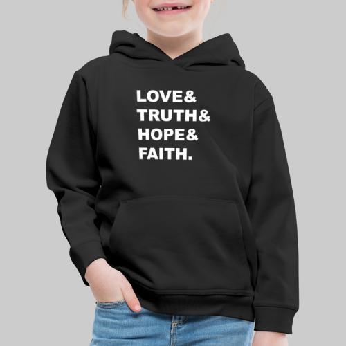 Love & - Kids' Premium Hoodie