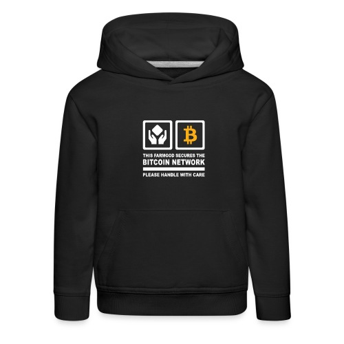 SECURE THE NETWORK - Kinder Premium Hoodie