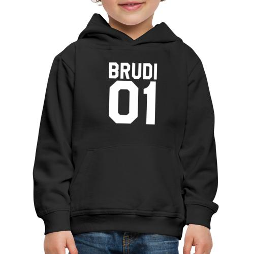Brudi 01 Geschwister Beste Freunde Partnerlook - Kinder Premium Hoodie