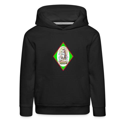 Hippy Bubble - Kids' Premium Hoodie