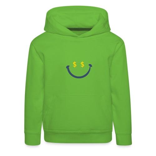 dollarowy uśmiech - Bluza dziecięca z kapturem Premium