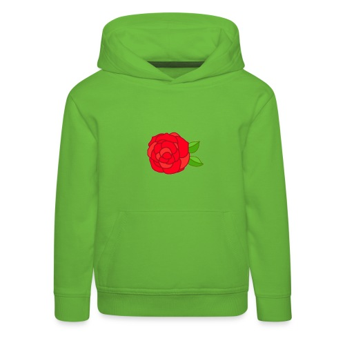 Róża - Bluza dziecięca z kapturem Premium