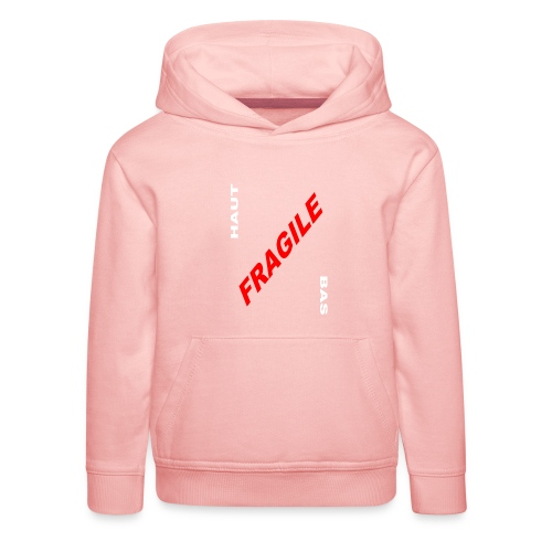 FRAGILE - Pull à capuche Premium Enfant