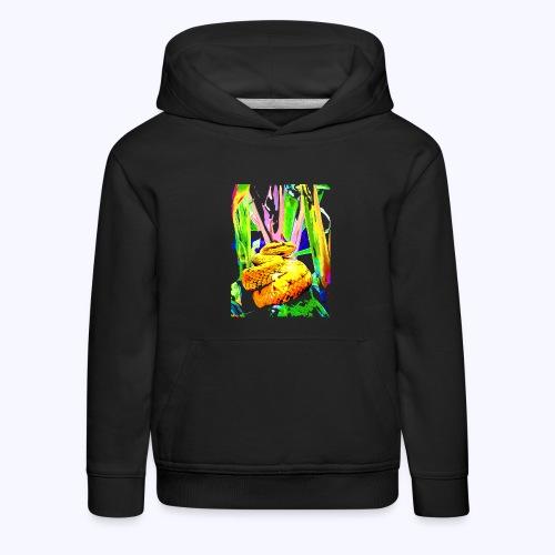 neon snake - Kinder Premium Hoodie