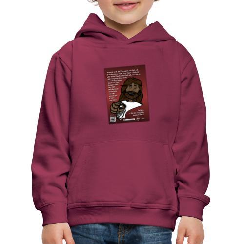 Jesus vertrauen - warum ? - Kinder Premium Hoodie