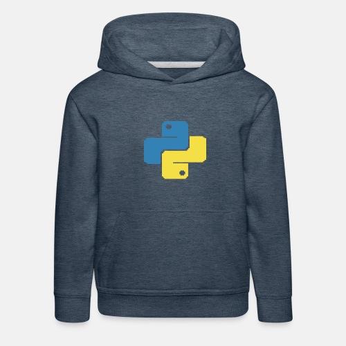Python Pixelart - Kinder Premium Hoodie
