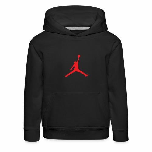 Méchant basket-ball - Pull à capuche Premium Enfant