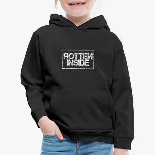 Rotten Inside - Felpa con cappuccio Premium per bambini