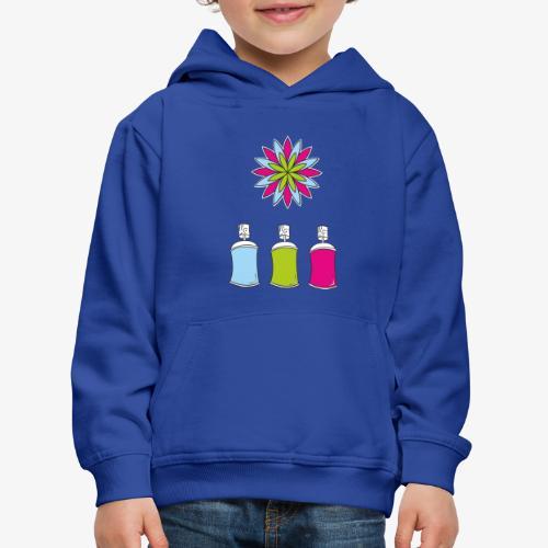 SOLRAC Spray of colors - Sudadera con capucha premium niño