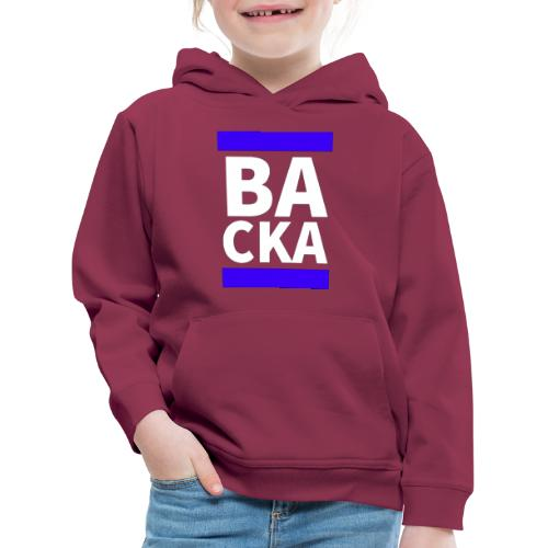 Backa - Premium-Luvtröja barn