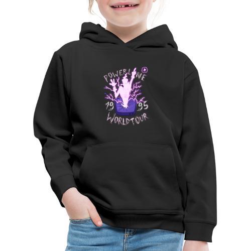 Powerline - Felpa con cappuccio Premium per bambini