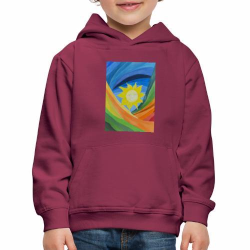 lachende-sonne - Kinder Premium Hoodie