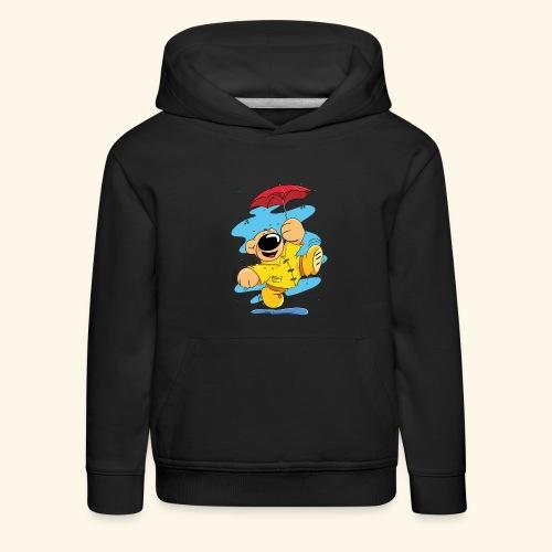 Der Bär tanzt im Regen - Kinder Premium Hoodie