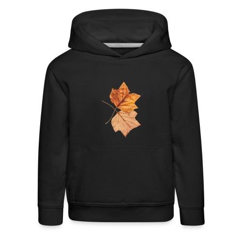 Blätter - Kinder Premium Hoodie