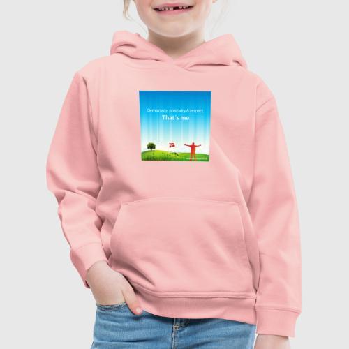 Rolling hills tshirt - Premium hættetrøje til børn