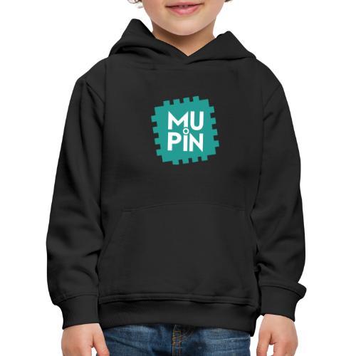 Logo Mupin quadrato - Felpa con cappuccio Premium per bambini