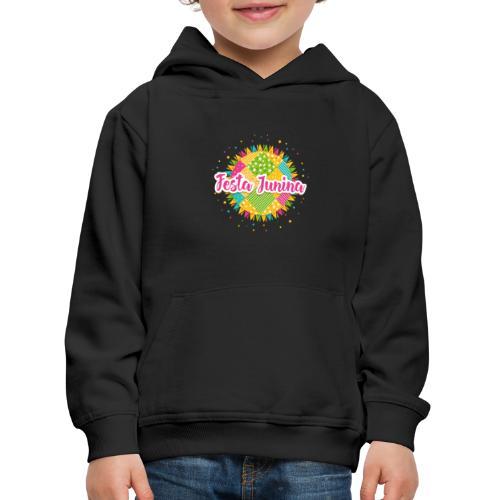 Encontro festa junina - Kids' Premium Hoodie