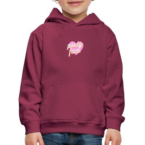 Pouty face - Bluza dziecięca z kapturem Premium