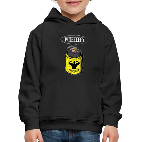 Escargot Wheeeeeeey - Pull à capuche Premium Enfant