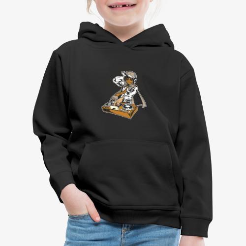 Dj Puppet - Pull à capuche Premium Enfant