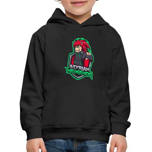 styrian hedgehog Logo - Kinder Premium Hoodie