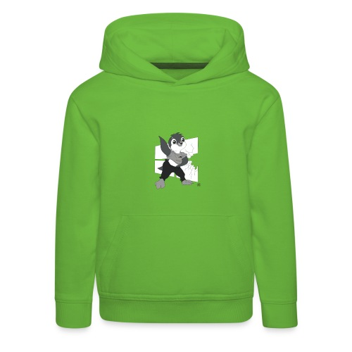 Le pingouin de Nice - Pull à capuche Premium Enfant