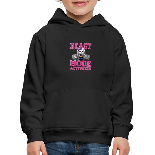 Bunny Power Lifting - Pull à capuche Premium Enfant