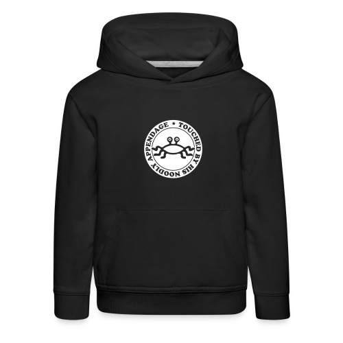 Touched by His Noodly Appendage - Kids' Premium Hoodie