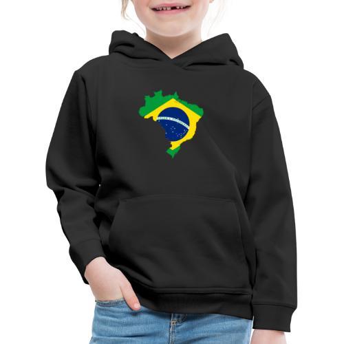 Encontro Ordem E Progresso Brasil - Kids' Premium Hoodie