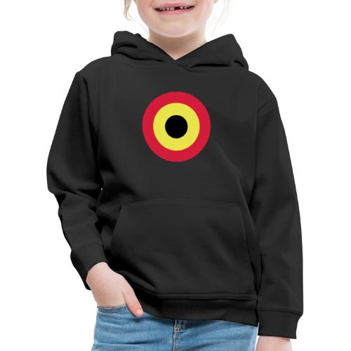 Couleurs Belgique - Belgium - Belgie - Pull à capuche Premium Enfant
