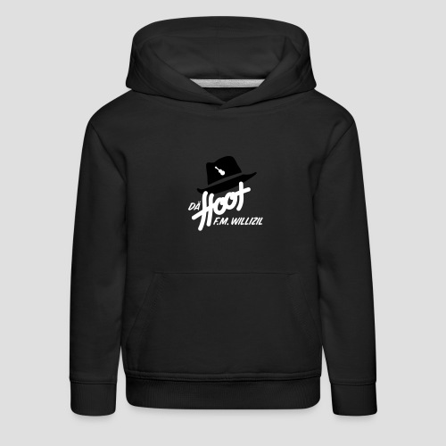 daeHoot_Shirt_Logo1_2c - Kinder Premium Hoodie