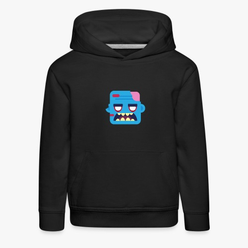 Mini Monsters - Zombob - Premium hættetrøje til børn