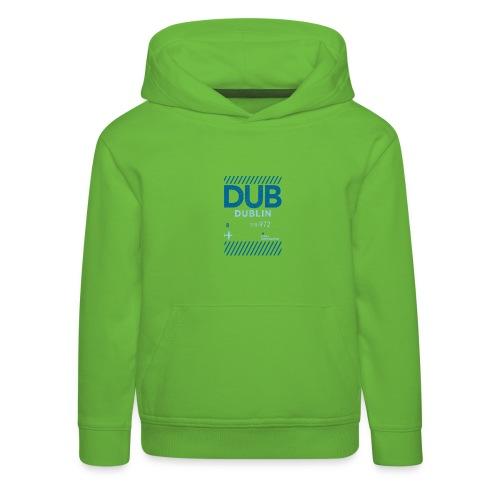 Dublin Ireland Travel - Kids' Premium Hoodie