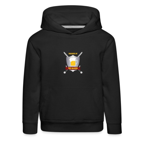 Knights of The Bajers - Premium hættetrøje til børn
