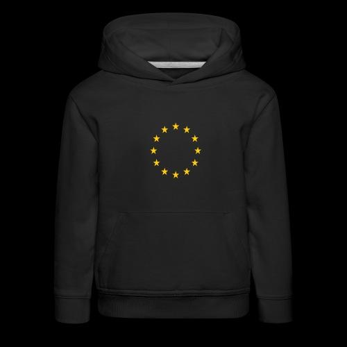 EU Sterne - Kinder Premium Hoodie
