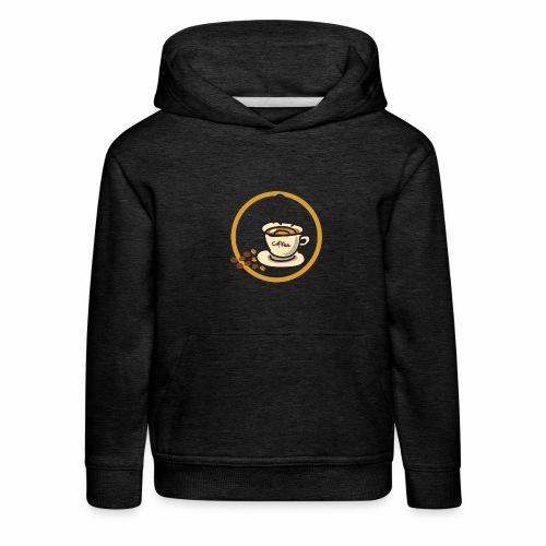 Kaffeeemblem - Kinder Premium Hoodie