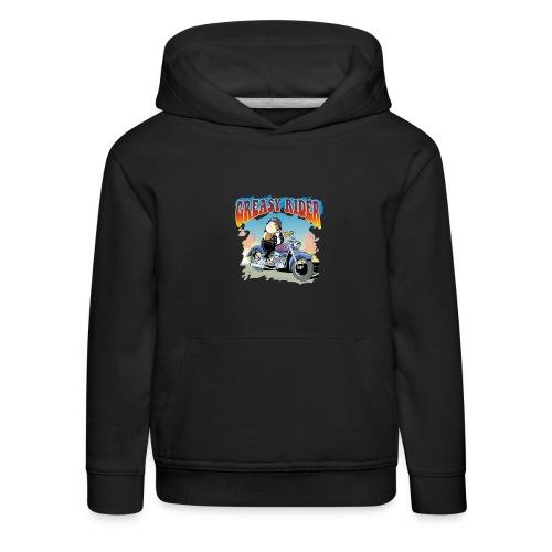 Greasy Rider - Kinder Premium Hoodie