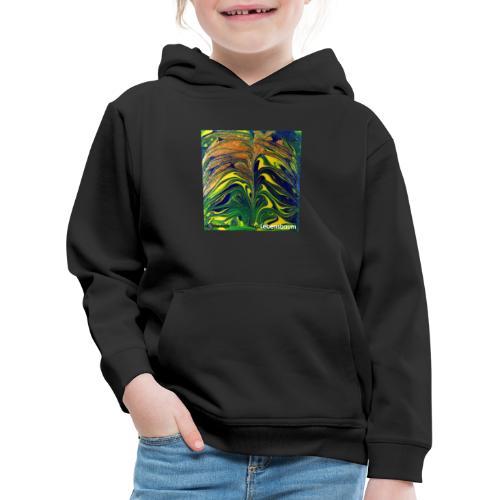 TIAN GREEN Mosaik DE029 - Lebensbaum - Kinder Premium Hoodie