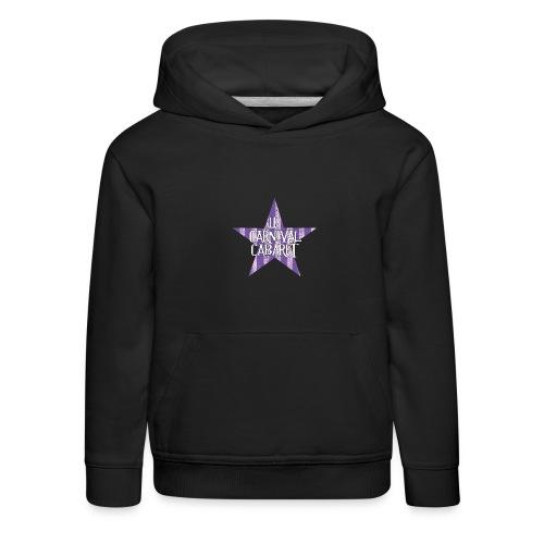 bonnet LCC noir etoie violette - Kids' Premium Hoodie
