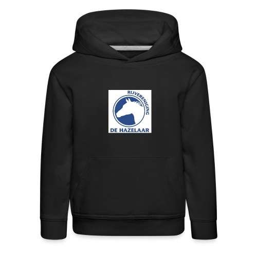 LgHazelaarPantoneReflexBl - Kinderen trui Premium met capuchon