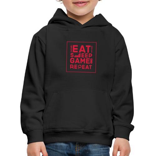 Eat, Sleep, Game, Repeat. - Kids' Premium Hoodie