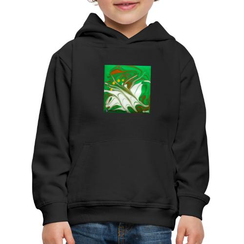 TIAN GREEN Mosaik CG002 - quaKI - Kinder Premium Hoodie