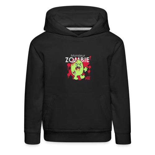 mr zombie - Pull à capuche Premium Enfant