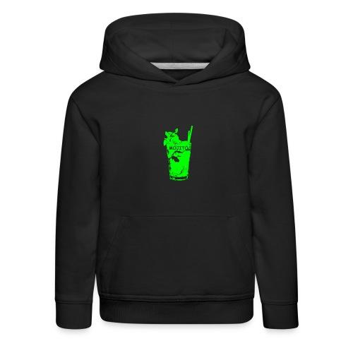 zz_ultima_verde_moji_5_900x900_nuovo_rit - Felpa con cappuccio Premium per bambini