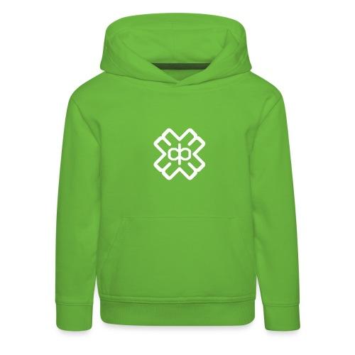 d3eplogowhite - Kids' Premium Hoodie