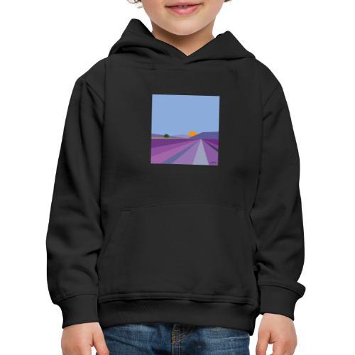 Lavande - Pull à capuche Premium Enfant